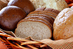 Grain Bread and Rolls Royalty Free Stock Photography