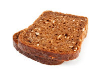 Grain bread slices Stock Photography