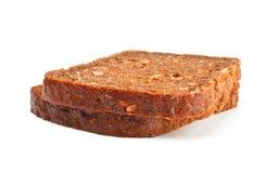 Grain bread slices Stock Image