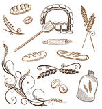 Grain, bread, wheat, bakery Stock Image