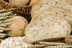 Grain Breads 1 Stock Photo
