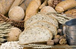 Grain Breads 6 royalty free stock images