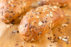 Grain breads Royalty Free Stock Photo