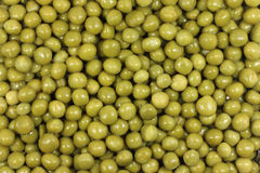 Grain canned peas background Royalty Free Stock Photos