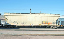 Grain Car Royalty Free Stock Image