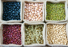 Grain, cereal, healthy food, nutrition eating Stock Photography