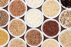 Grain and Cereal Selection Royalty Free Stock Images