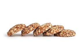Grain cookies Royalty Free Stock Images