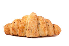 Grain Croissant isolated on white background. Delicious Croissant isolated on a white background Royalty Free Stock Photo