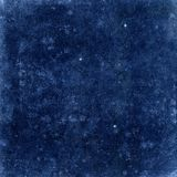 Grain dark blue background or texture Stock Image