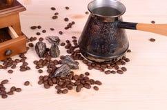 Grain de café images stock