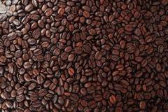 Grain de café rôti dans la cabine de ventes Image libre de droits