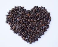 Grain de café rôti Photo stock
