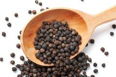Grain de poivre noir image stock