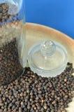 Grain de poivre organique Image libre de droits
