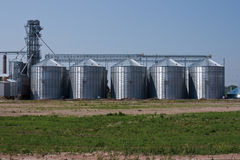 Grain drying systems Stock Images
