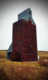 Grain Elevater. This old grain Elevater is Loaded near Heppenr, Or Stock Photo