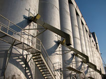 Grain Elevator Royalty Free Stock Photography