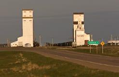 Grain Elevator. Saskatchewan Canada Tuxford Stock Photo