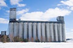 Grain Elevator. Collingwood Ontario Canada, elevator in old port Royalty Free Stock Photo