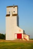 Grain Elevator. Prairie Grain Elevator in Saskatchewan Royalty Free Stock Image
