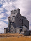 Grain Elevator. This image of the large grain storage facility was taken in north central Montana near Sunburst Royalty Free Stock Photo