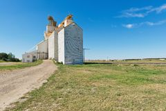 Grain elevator Royalty Free Stock Images