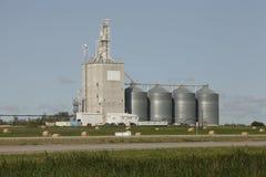 Grain elevator. In the Canadian prairies.  in Moosomin, Saskatchewan, Canada Stock Photo