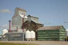 Grain elevator royalty free stock photo
