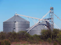 Grain Elevator Royalty Free Stock Photos