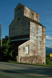Grain Elevator, Creston BC, Canada. Abandoned grain elevator, on the Crowsnest Highway #3, Creston BC, Canada stock photography