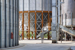 Grain Elevator Detail Royalty Free Stock Photography
