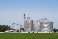 Grain Elevator IV Stock Photography