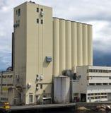 Grain elevator Stock Photo