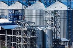 Grain elevator Stock Photography