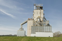Grain Elevator Revised Stock Images