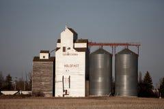 Grain Elevator Saskatchewan Stock Images