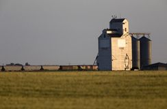 Grain Elevator Saskatchewan Stock Photos