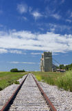 Grain elevators Royalty Free Stock Photos