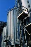 Grain Elevators Stock Image