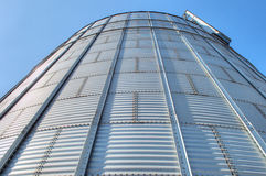 Grain Elevators Stock Image