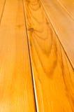 Grain en bois de planche dans la perspective Photographie stock