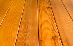 Grain en bois de planche dans la perspective Image stock