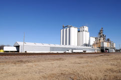 Grain facility Stock Images