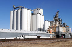 Grain facility Royalty Free Stock Image