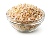 Grain flakes stock image