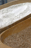 Grain and flour Stock Photo