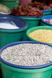 Grain food on the market Royalty Free Stock Photography