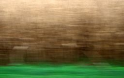 Grain and grass. In motion Stock Images