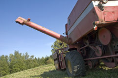 Grain harvester Stock Photography